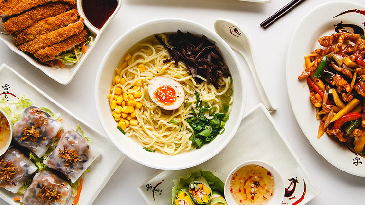 Not all ramen noodles are found in broth in Dubai