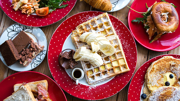4 of the most mouth watering waffles in Dubai