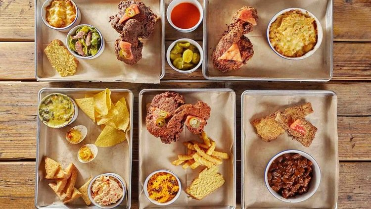 Where to find messy American food in Dubai