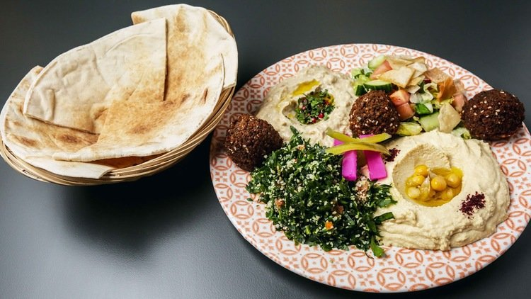 Dubai's Best Vegetarian Lebanese Restaurant Dishes