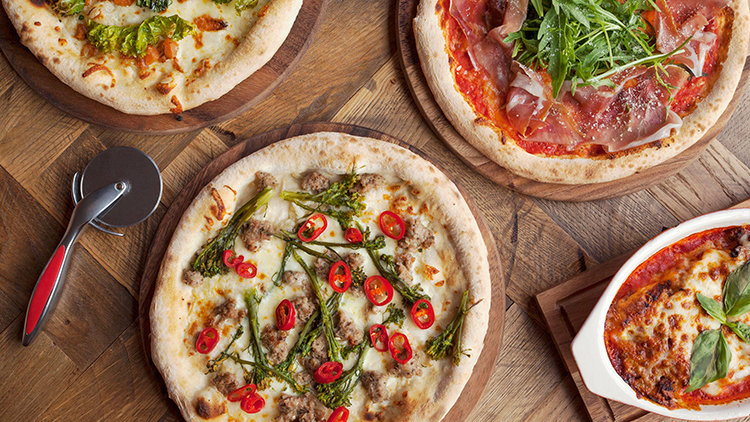 White based pizzas to get your mouth watering in Dubai