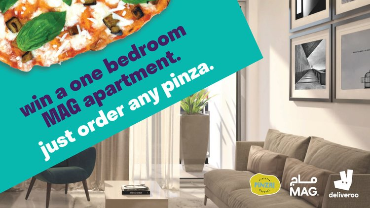 Win a one-bedroom MAG apartment!